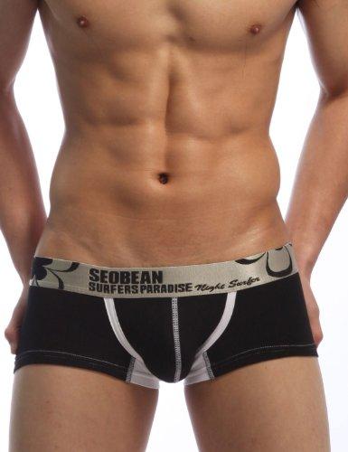 Picture for SEOBEAN Low Rise Sexy Trunk Boxer Brief Underwear Mens 2200