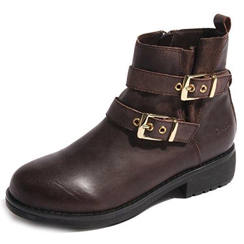 B0216 stivaletto donna GAUDI' scarpa marrone boots shoes women [38]