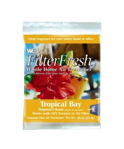 WEB FilterFresh Whole Home Tropical Bay Air Freshener (Home Air Conditioner Filter compare prices)