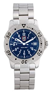 Luminox Men's 1594 Marine Series Blue Dial Stainless-Steel Dive Watch