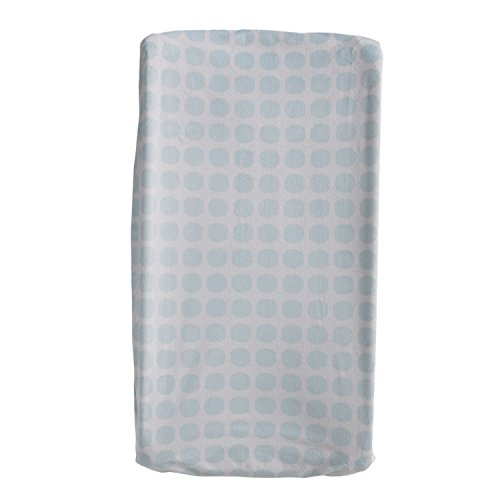 Lolli Living Change Pad Cover, Blue Mod Dot