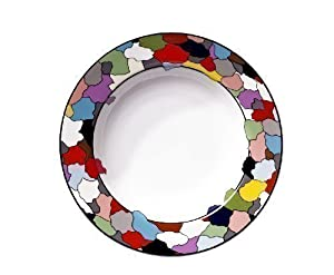 tait taitu dieci plate deep soup plate home kitchen. Black Bedroom Furniture Sets. Home Design Ideas