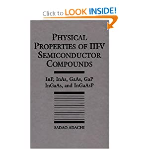 Physical properties of III-V semiconductor compounds Sadao Adachi