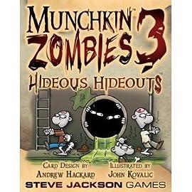 Munchkin Zombies 3 Hideous Hideout