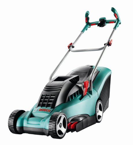 Bosch Rotak 34 Ergoflex Electric Rotary Lawnmower (34 cm Cutting Width)