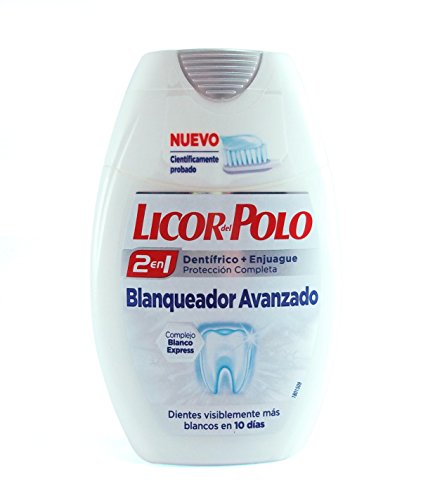 LICOR DEL POLO - 2 IN 1 advanced whitening 75 ml-unisex