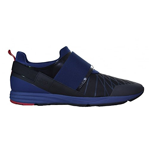 Hugo Boss Men's Hugo Boss Men's Dark Blue Hybrid Runn Trainers 8 UK/42 Euro thumbnail