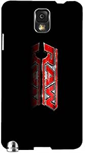 Dazzling 3D multicolor printed protective REBEL mobile back cover for Samsung Note-3 - D.No-DEZ-1296-n3