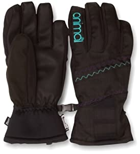 Animal Women's ORINDA Ski Glove - Black, Medium/Large (Old Version)