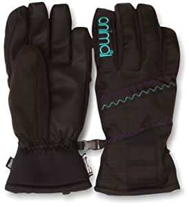 Animal Women's ORINDA Ski Glove - Black, Medium/Large