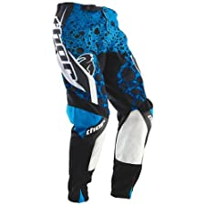 Thor Mens Phase Vented Amazon Offroad Pants Blue 34