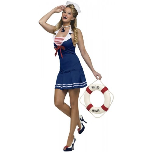 Anchors Away! Costume - Small/Medium - Dress Size 2-8