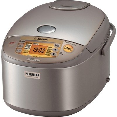 Zojirushi NP-HTC18 Induction Heating 10-Cup (Uncooked) Pressure Rice Cooker and Warmer (Zojirushi Induction Pressure compare prices)