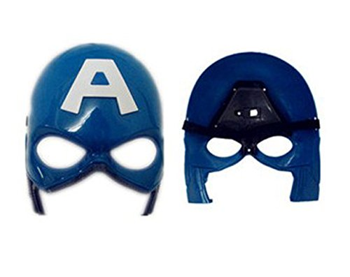 New Design of the Popular Captain America Toys, Masks and Masquerade Mask - Blue
