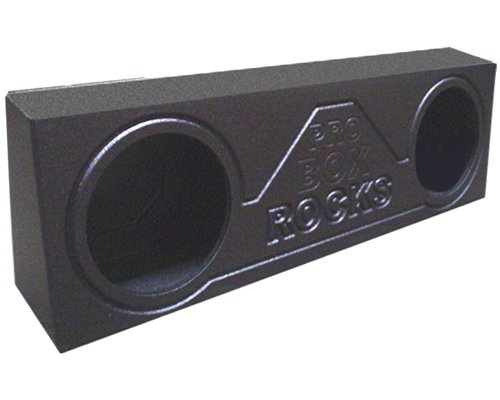 "Probox 21249 Armor Coated Dual 12"" Subwoofer Truck Box"