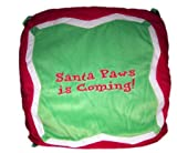 Santa Paws Is Coming Dog Pillow Bed