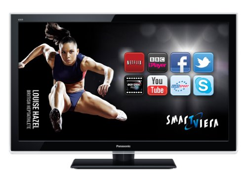 Panasonic TX-L32E5B 32-inch Widescreen Full HD 1080p Smart Internet LED TV with Freeview HD - Black (New for 2012)