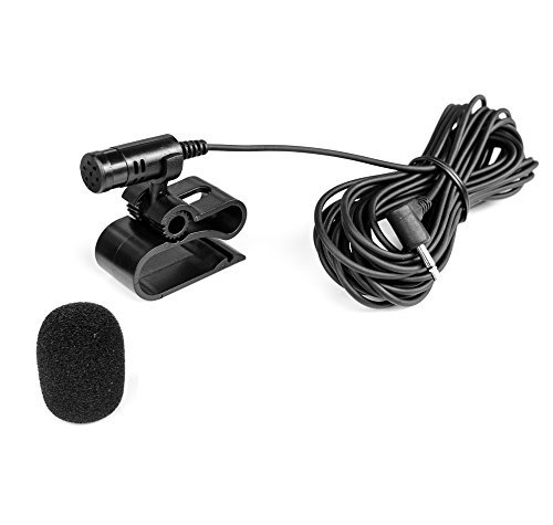 Mikrofon-25mm-Klinke-Windschutz-fr-PIONIEER-AVIC-AVH-DEH-BLAUPUNKT-Toronto-Hamburg
