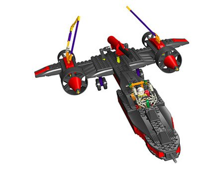 K'Nex Spy Plane, Air Action Series