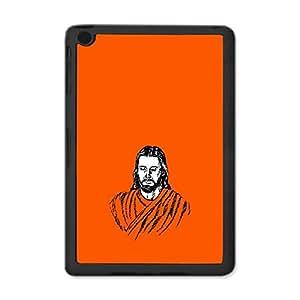 Skin4gadgets Lord Jesus Christ - Line Sketch on English Pastel Color-Orange Tablet Designer SMART CASE for IPAD MINI2