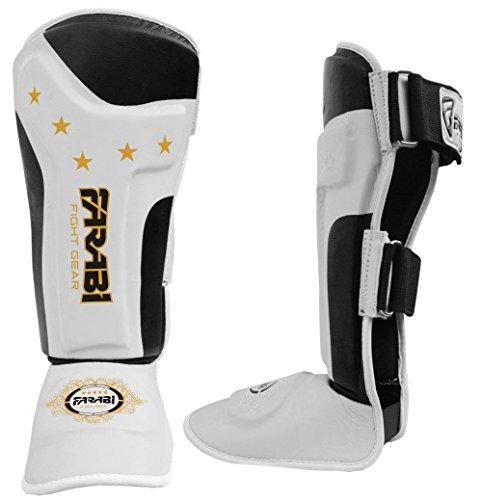 kids-shin-pads-junior-kickboxing-muay-thai-mma-shin-guards-shin-instep-leg-foot-protector