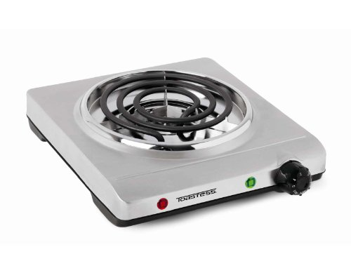 Toastess THP-517 Electric Single-Coil Cooking Range, Stainless Steel