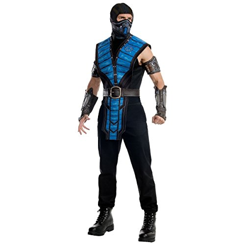 GSG Sub-Zero Costume Adult Mortal Kombat Ninja Halloween Fancy Dress
