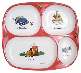 Baby Cie Melamine Divided TV dinner tray Transportation Tranports fire engine red - Buy Baby Cie Melamine Divided TV dinner tray Transportation Tranports fire engine red - Purchase Baby Cie Melamine Divided TV dinner tray Transportation Tranports fire engine red (Baby Cie, Home & Garden, Categories, Kitchen & Dining, Tableware)