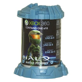 Halo Xbox Live Avatars McFarlane Toys Series 1 Blind Capsule 1 RANDOM Figure!