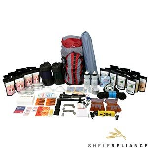 Shelf Reliance Ultimate Survival Pack Supplies for Two People for up to Two Weeks