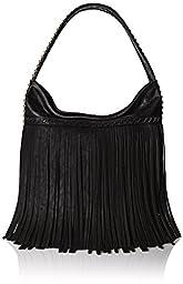 BIG BUDDHA Giada Shoulder Bag, Black, One Size