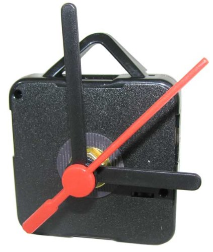 BATTERY OPERATED CLOCK MOVEMENT WITH HANDS (Electric Clock Parts compare prices)