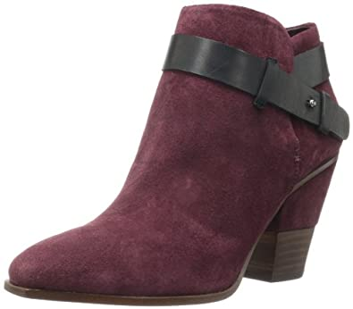 Dolce Vita Women's Hilary Bootie,Bordeaux Suede,6 M US