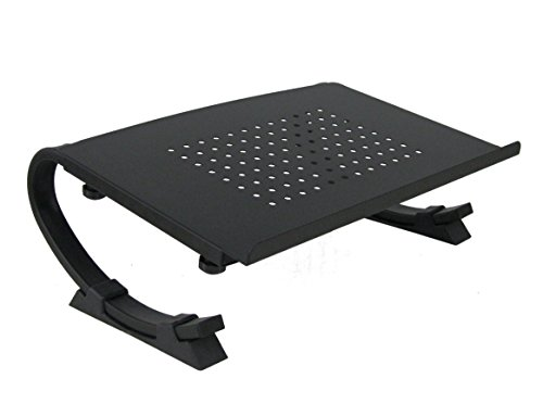 Cheapest Prices! Laptop / Notebook & Monitor Stand Fully Adjustable Curve Black by VIVO (STAND-V001N...