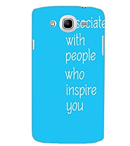 SAMSUNG GALAXY MEGA 5.8 TEXT Back Cover by PRINTSWAG