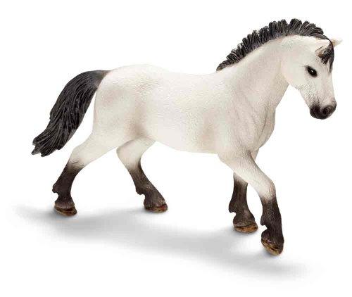 Schleich Camargue Stallion Toy Figure - 1