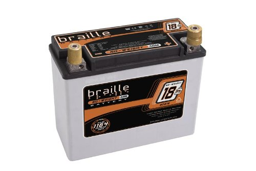 Braille Battery B2618 Lightweight Racing Battery