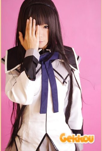 コスプレウイッグ☆魔法少女まどか★マギカ☆暁美ほむら