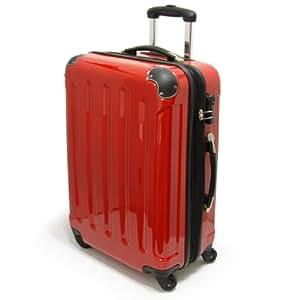 top trolley koffer rot 75 liter 68cm 4 rollen 360 leicht reisekoffer aus 100 polycarbonat. Black Bedroom Furniture Sets. Home Design Ideas
