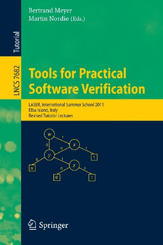 Tools for Practical Software Verification: International Summer School, LASER 2011, Elba Island, Italy, Revised Tutorial