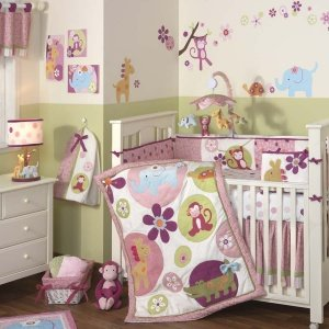 Hot Pink Zebra Baby Bedding