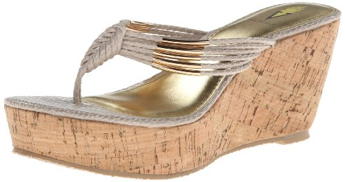 Volatile Women'S Hilo Wedge Sandal,Beige,8 B Us front-1027875