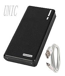 UNIC Biggest Portable Charger 22000 mAh Dual USB Power Bank UN22K1-Black