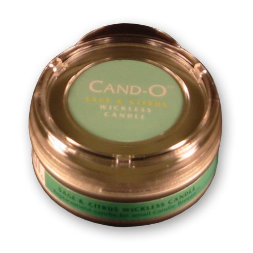 Candle Breeze Large Cand-o Sage & Citrus Scented Candle