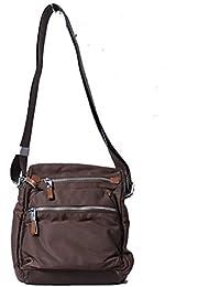 Ruff Brown Stylish Casual Sling Bag Travel Sling Bag Casual Messenger Bag