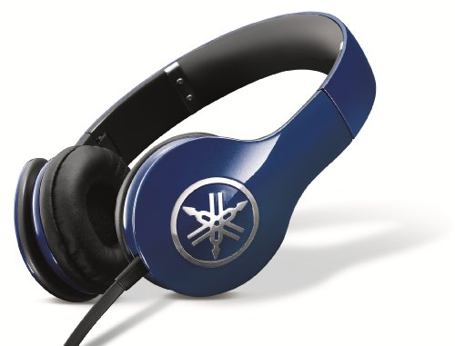 Yamaha Pro 300 High-Fidelity On-Ear Headphones (Racing Blue)