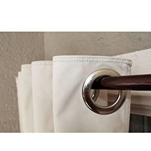 Coolaroo Designer Curtain, 60 by 84-Inch, Parchment (Discontinued by Manufacturer)