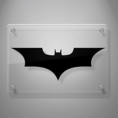 "Batman Forever Decal Sticker for Car Window, Laptop, Motorcycle, Walls, Mirror and More. # 451 (2"" x 5.7"", Black)"