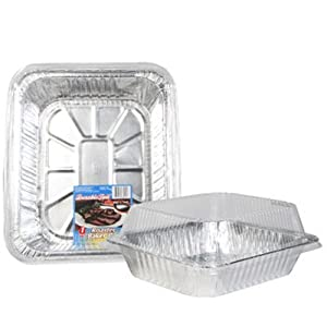 Amazon Com Party Amp Catering Supplies Foil Roasting Pans