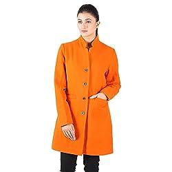 Orange Wool Coat 2
